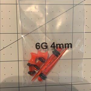 Red 6g gauges